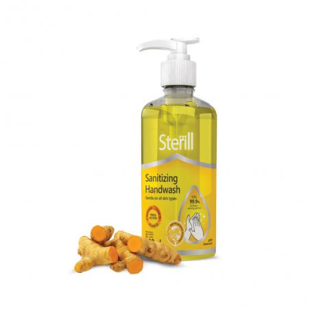 Sterill Sanitizing Handwash Turmeric 300ml