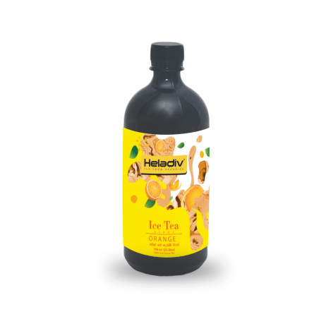HELADIV Orange Ice Tea Concentrate Cordial 750ml
