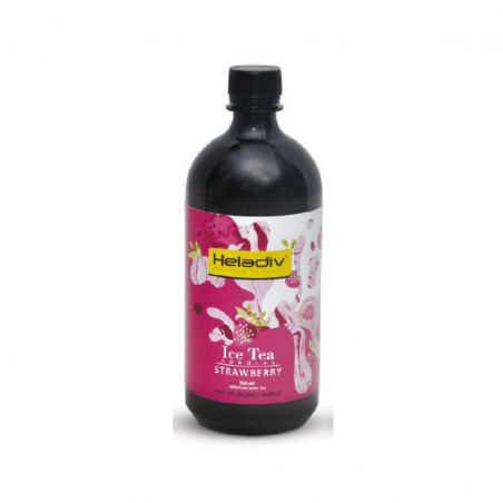 HELADIV Strawberry Ice Tea Concentrate Cordial 750ml