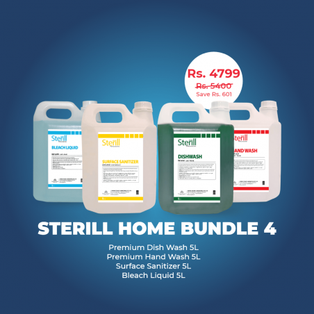 Sterill Home Bundle Pack 4